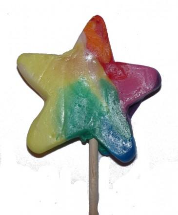 Felko Lolly Star Rainbow