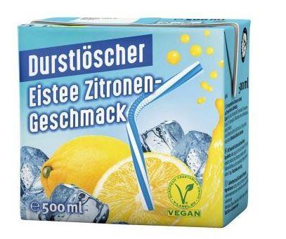 Durstlöscher Eistee Zitrone