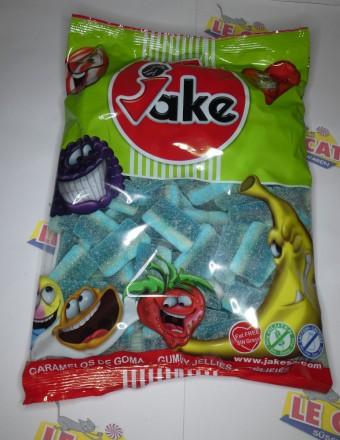 Jake Sour Blue Raspberry Wedges