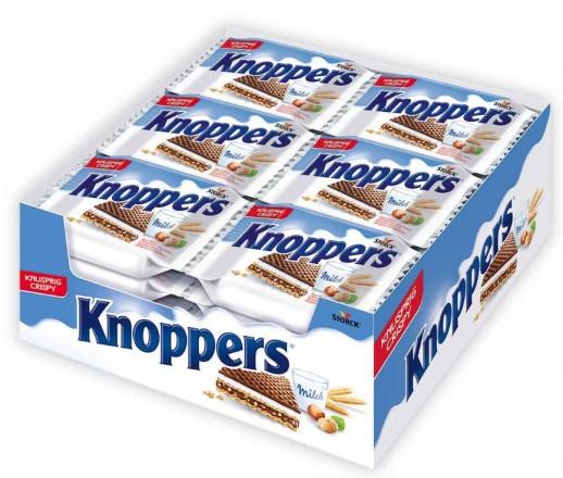 Stork Knoppers Milch-Haselnuss-Schnitte, 24 stück