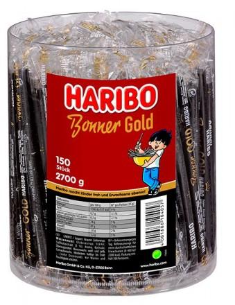 Haribo Bonner Gold Lakritz-Stangen