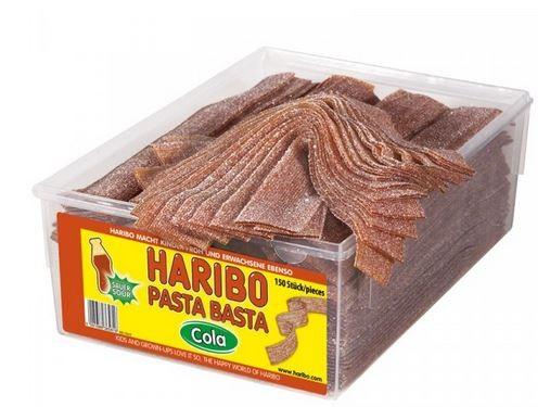 Haribo Pasta Basta Cola, Fruchtgummi sauer