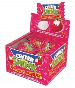 Center Shock Erdbeere Kaugummi