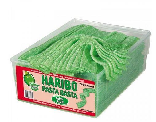 Haribo Pasta Basta Apfel, Fruchtgummi sauer