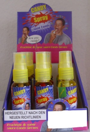 Candy Spray, 15er Steller