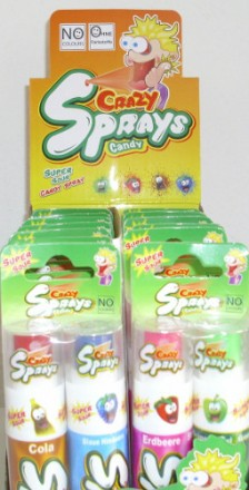 Crazy Candy Spray Duo, Steller