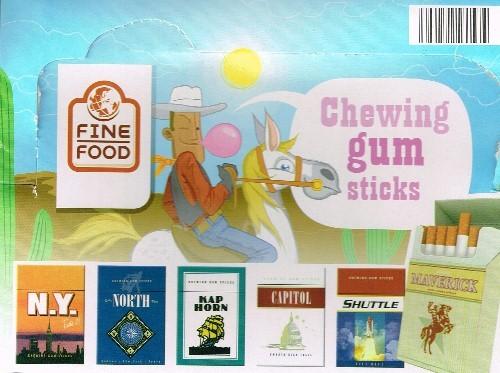 Fine Food Kaugummi Zigaretten