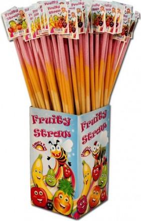 Fruity Straws, Riesen Schleckpulverstangen