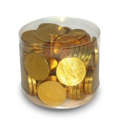 Schoko-Goldmünzen
