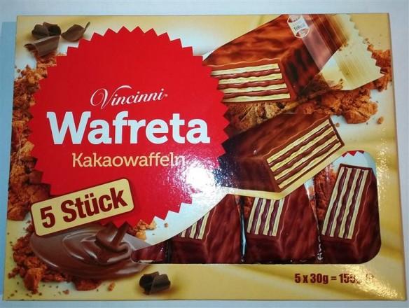 Vincinni Wafreta Kakaowaffeln